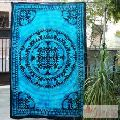 Elephant Mandala Wall Decor Cotton Tapestry Twin Wall Hanging