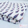 Floral Hand Block Print Natural Cotton Fabric Sewing Material-Craft Jaipur