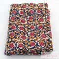 FREE Shipping Hand Block Printed Natural cotton flower print Fabric