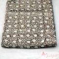 Hand Block Floral Printed Cotton Fabric Sewing Material-Craft Jaipur