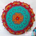 Handmade Cushion Cover Traditional Pillows Suzani Embroidery-Craft Jaipur