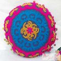 Handmade Decorative Cushion Cover Suzani Embroidered Pillow Cases-Craft Jaipur