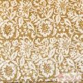 Handmade Multi Floral Printed Cotton Block Running Fabric-Craft Jaipur