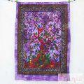 Handmade Tie Dye Tree Of Life Poster Size Wall Hanging Art-Craft Jaipur
