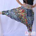 Printed Women Trousers Cotton Aladdin Harem Pants Free Size-Craft Jaipur