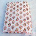 White Running Fabric Hand Block Print Cotton Sewing Material-Craft Jaipur