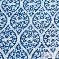 Wooden Block Printed Indian Cotton Voile Clothing Fabric-Craft Jaipur