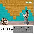 YAKURA Blue Yellow Gold SELF ADHESIVE FOAM WALL TILES