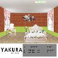 YAKURA SELF ADHESIVE FOAM WALL TILES (DIY)(Red Brown & Green)