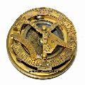 Brass Sundial Compass Pocket Sundial Compass
