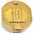 Large Brass Brunton Surveying Compass