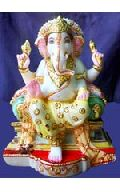 Ganesh Marble God Statue