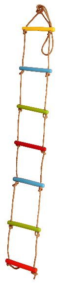 Seven Step Rope Ladder