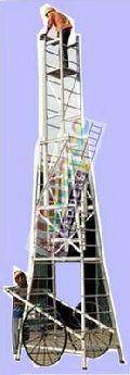 Aluminium Cage Tower Extension Ladder