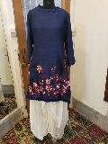Rubella Silk Embroidered Kurti