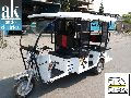 Battery operated six seater rickshaw for low budget