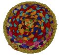 Multicolored Table Mat for Flower Pot