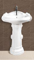 Sterling Plain Pedestal Wash Basin