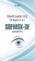Sofmox-DF Eye Drops