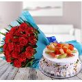 Rosy Mix Fruit cake