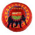 Elephant Butti Shape Cushion