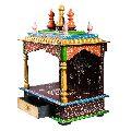 Design Wooden Temple
