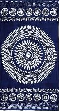 Yarn Dyed Jacquard Velour Beach Towel