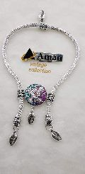 Aman grand Party Wear Sterling Silver Anklet