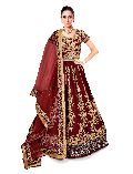 Fashmina Womens Designer Bridal LehEnga Choli And Dupatta-F-7008(A)