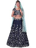 Fashmina Womens Designer Bridal Lehenga Choli And Dupatta-F-7011(A)