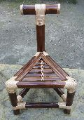 Single Bamboo traingle Chair