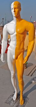 Double Color Full Body Male Mannequin