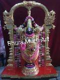 Black Stone Tirupati Balaji Statue