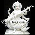 White Marble Saraswati Statue 2