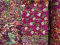 Handmade Printed Patchwork Kantha Quilt