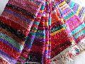 Indian Handmade Large Chindi Rag Rugs