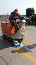 Battery Operated Floor Sweeping Machine