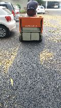 Battery Operated Road Cleaning Machine