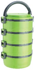 Jayco Homemeal Four Case Green Tiffin Box