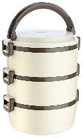 Jayco Homemeal Three Case White Tiffin Box
