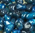 Blue Onyx Pebble Stone