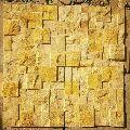 Teak Mosaic Wall Claddings