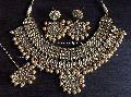Pearl Kundan Imitation Necklace Set