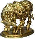 Mata Kamdhenu Laxmi Cow Calf idol statue