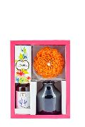 Lavender Flower Reed Diffuser Set