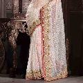 Kundan Work Silk Sarees