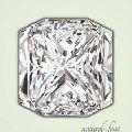 Radiant Polished Diamonds