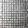 Platinum Silver Mosaic Tiles