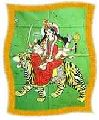 Goddess Durga Batik Print