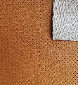 Hole Punch Pattern PU Perforated Leather Fabric